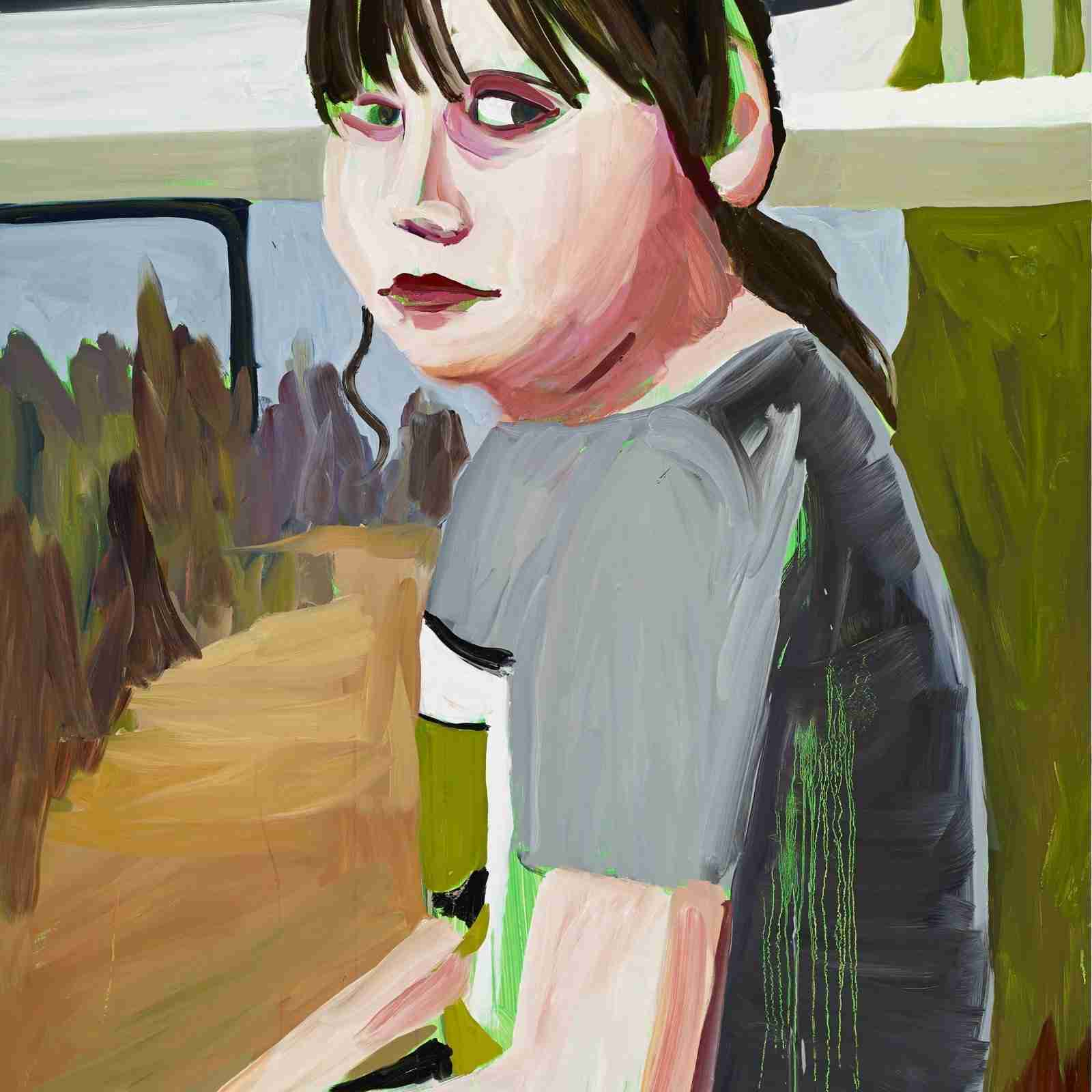 Chantal Joffe's people at The Jerwood Gallery, or how ...