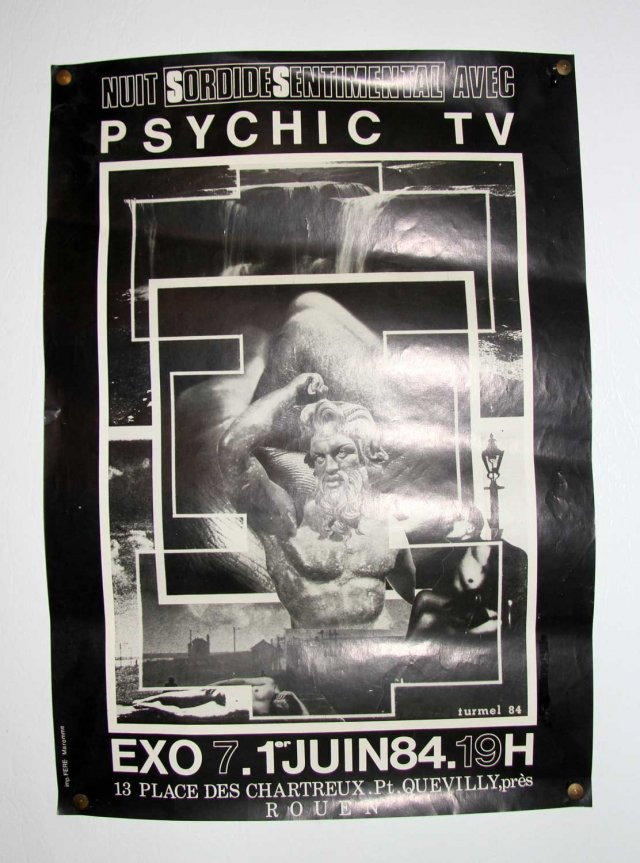Psychic TV. Courtesy of Exo Exo, Paris.