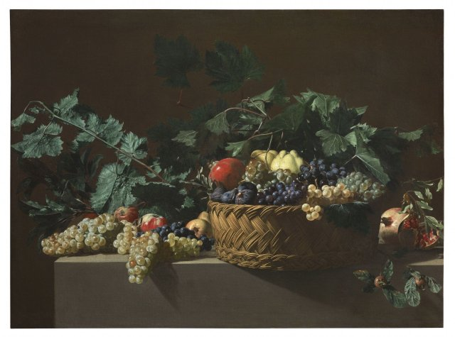 Bartolomeo Cavarozzi, Still Life, oil on canvas, 87.5 cm x 117.6 cm. Colnaghi.