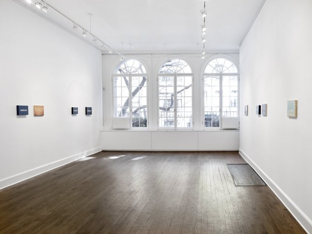 Mendes Wood DM and Michael Werner Gallery shared space in New York. On view Lucas Arruda & On Kawara, 2017. Courtesy of Mendes Wood DM