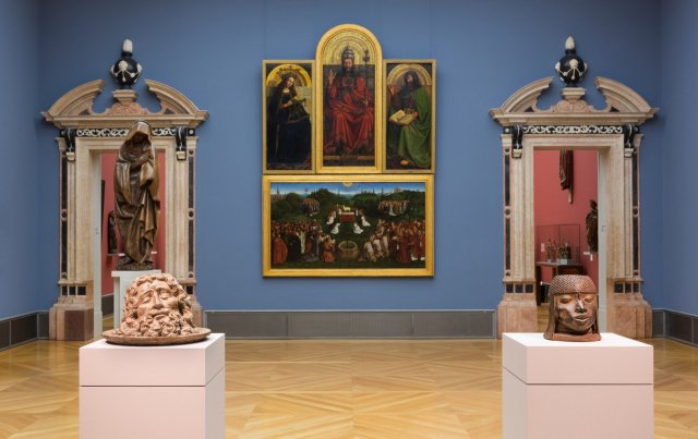"""Beyond compare: Art from Africa in the Bode Museum"", exhibition view © Staatliche Museen of Berlin/ David von Becker."