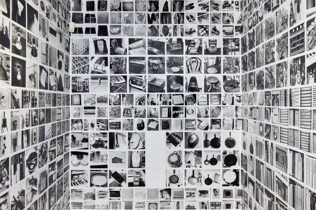 Sol LeWitt, autobiography, 1980. Black and white photographs mounted on paper, 62 sheets, 30,5 x 55,9 cm each. Glenstone Museum Collection, Potamac, MD. Courtesy Estate of Sol LeWitt.