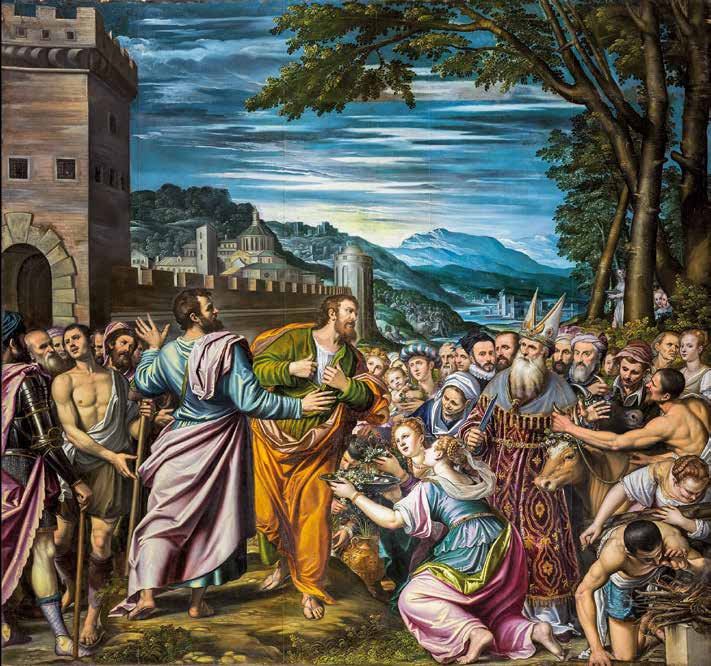 Saints Paul and Barnabas in Listra
