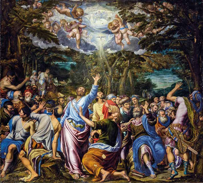 Vocation of saints Paul and Barnaba