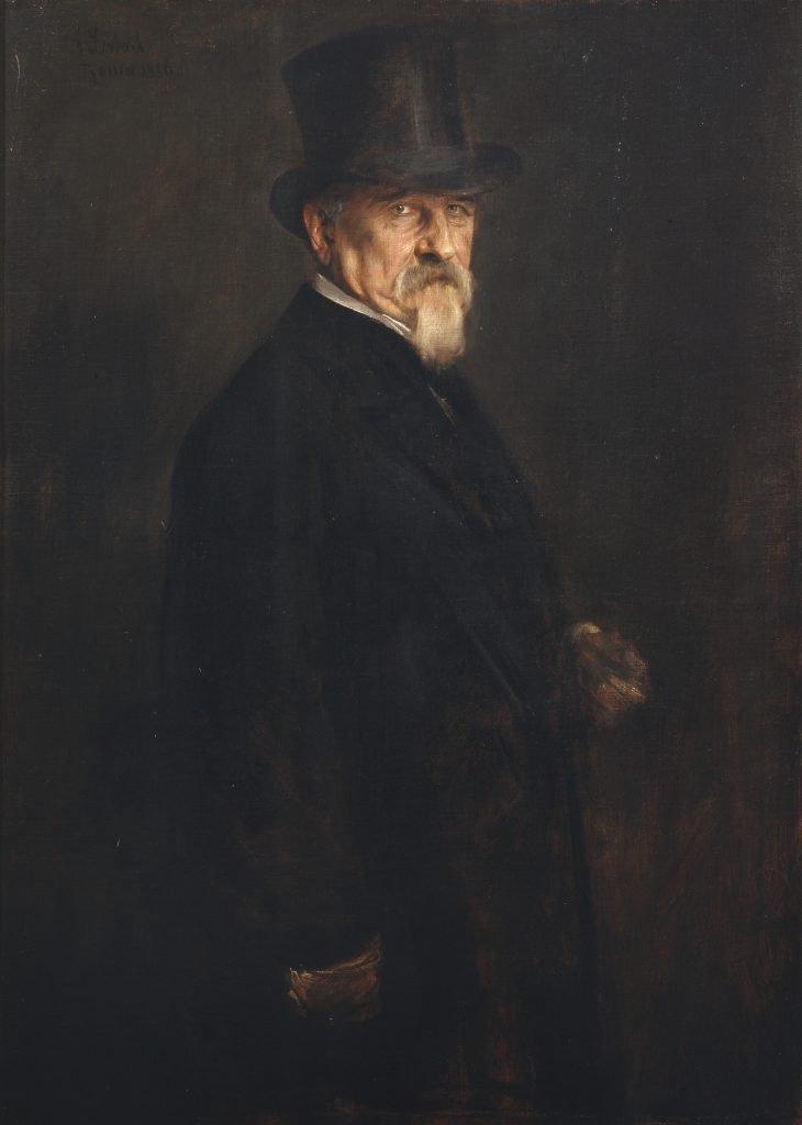Portrait of Giovanni Morelli