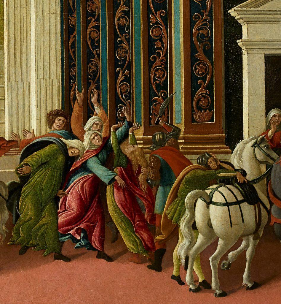 botticelli detail