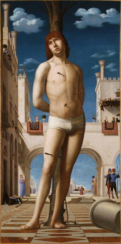 Antonello da Messina Saint Sebastian
