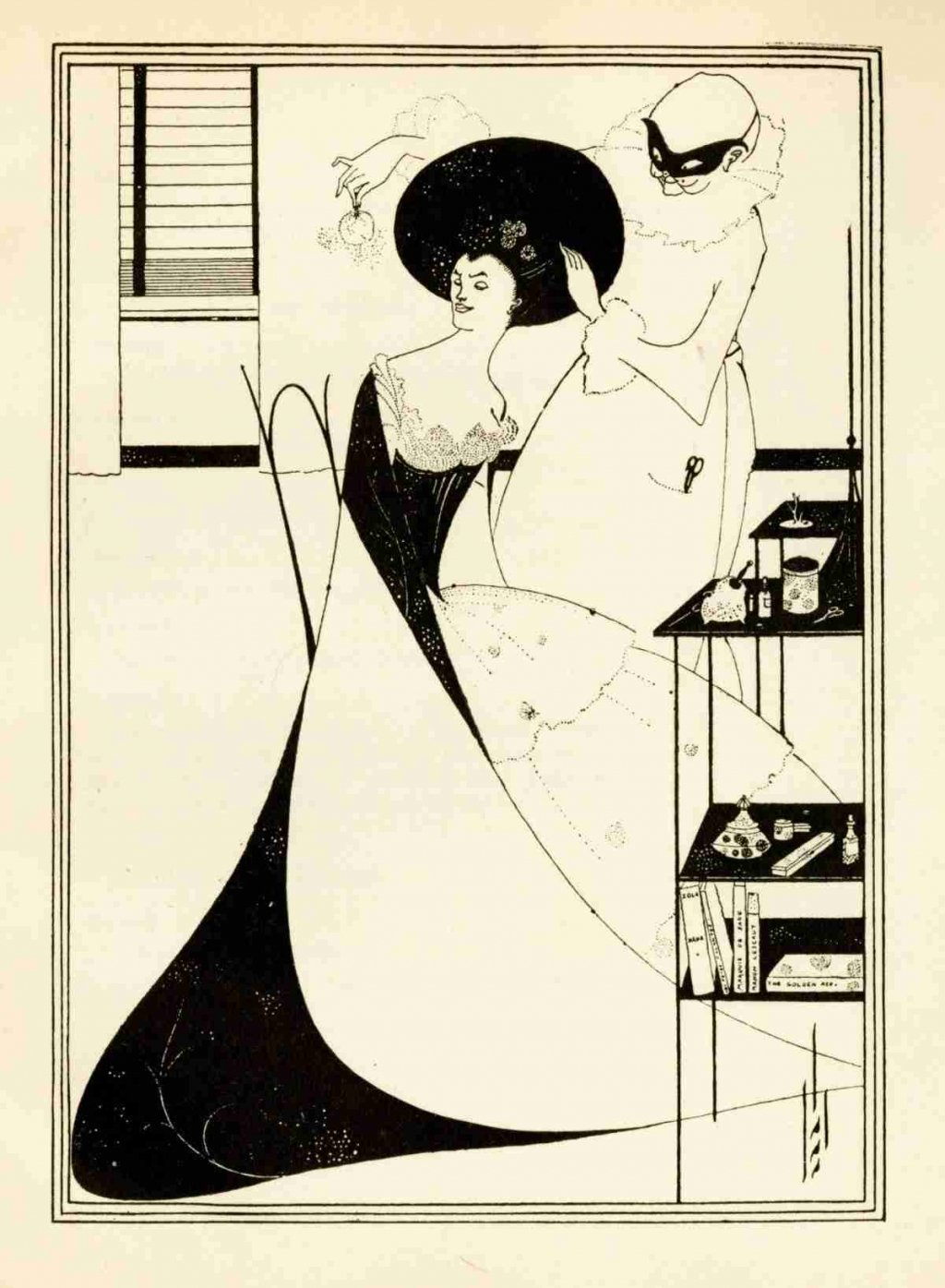 A. Beardsley - The toilet of Salomé