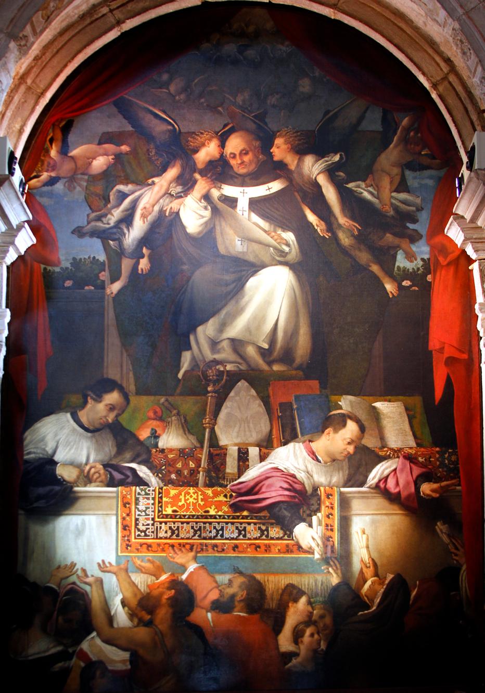 Lorenzo Lotto, The Alms of St Antoninus, 1540-42.