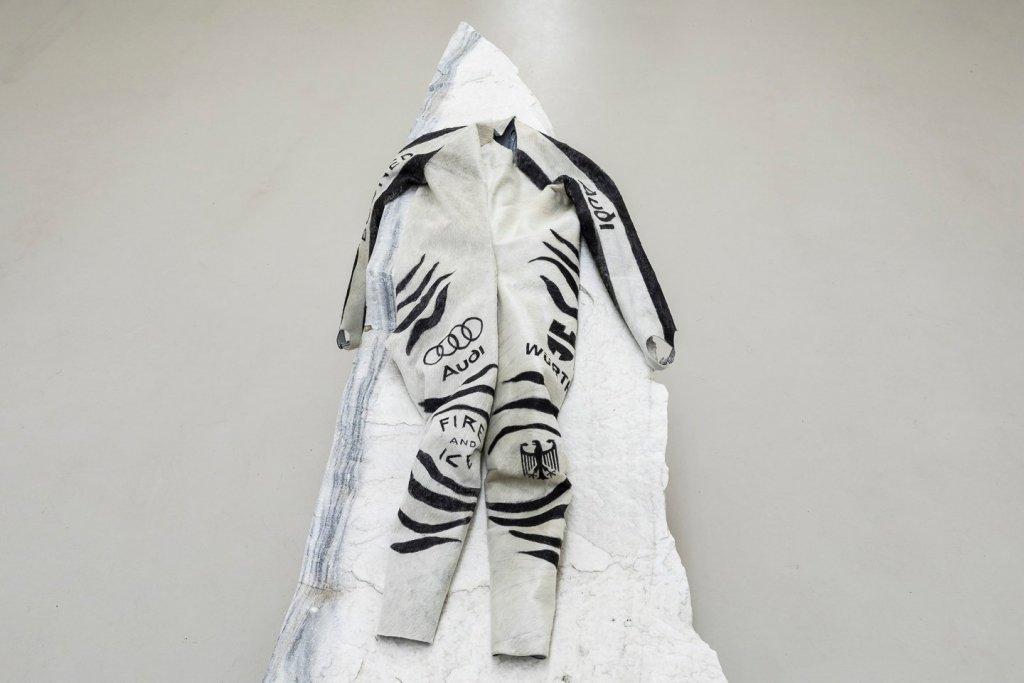a fake bike racing suit