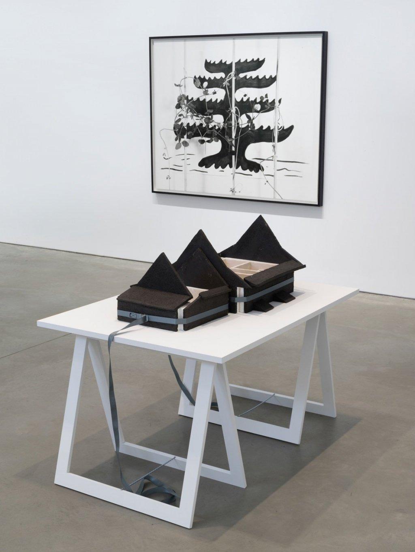 Installation view: Marina Pinsky, 303 Gallery, New York, February 22 – March 31, 2018. Courtesy 303 Gallery, New York.