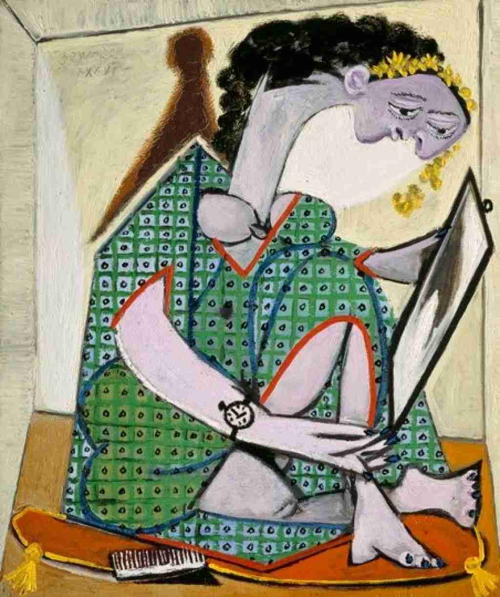 Picasso Donna con orologio