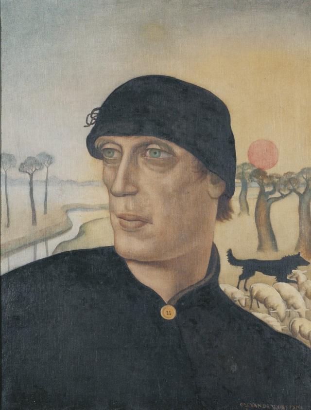 Gustave Van de Woestyne, Le berger, 1910. Courtesy of Museum Van Buuren, Brussels.