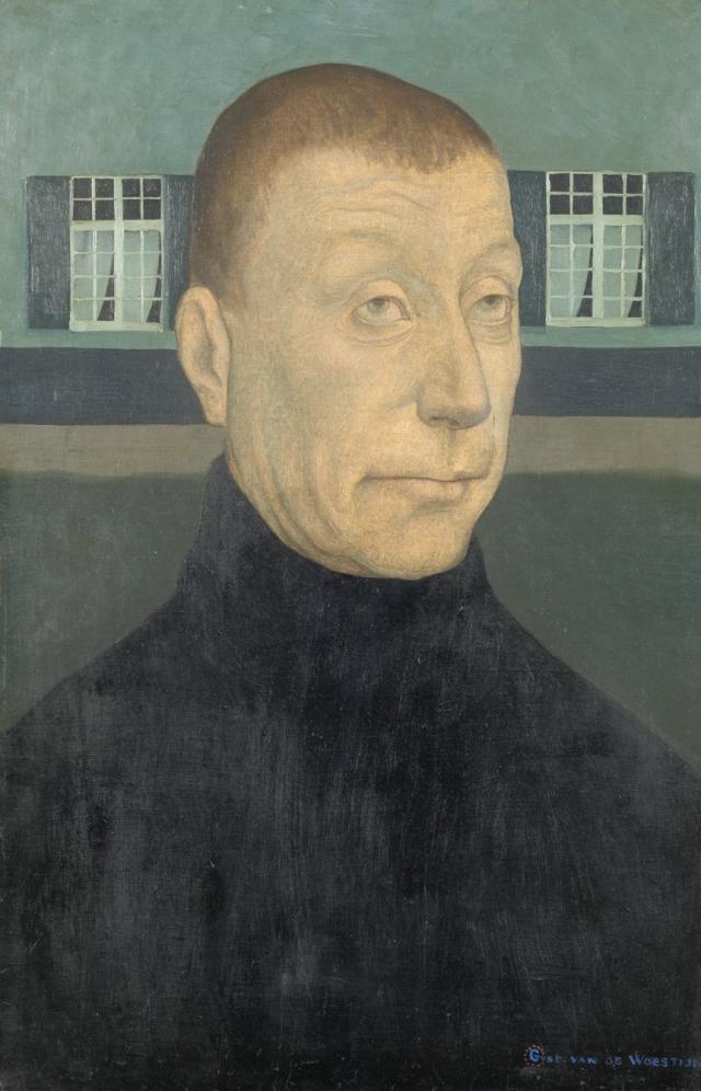 Gustave Van de Woestyne, Boer (of Avond), 1910. Courtesy Museum voor Schone Kunsten Gent.