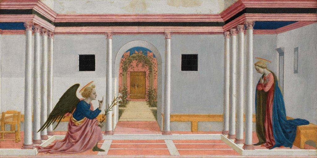 The Annunciation, Domenico Veneziano
