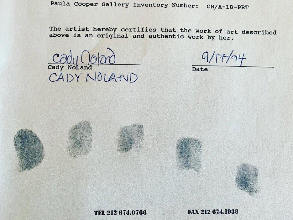noland damaged art