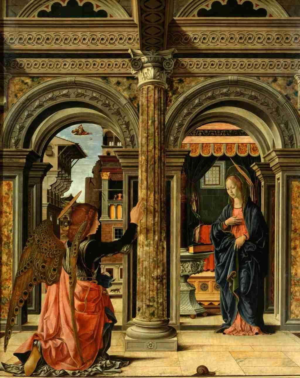 Annunciazione Francesco del Cossa