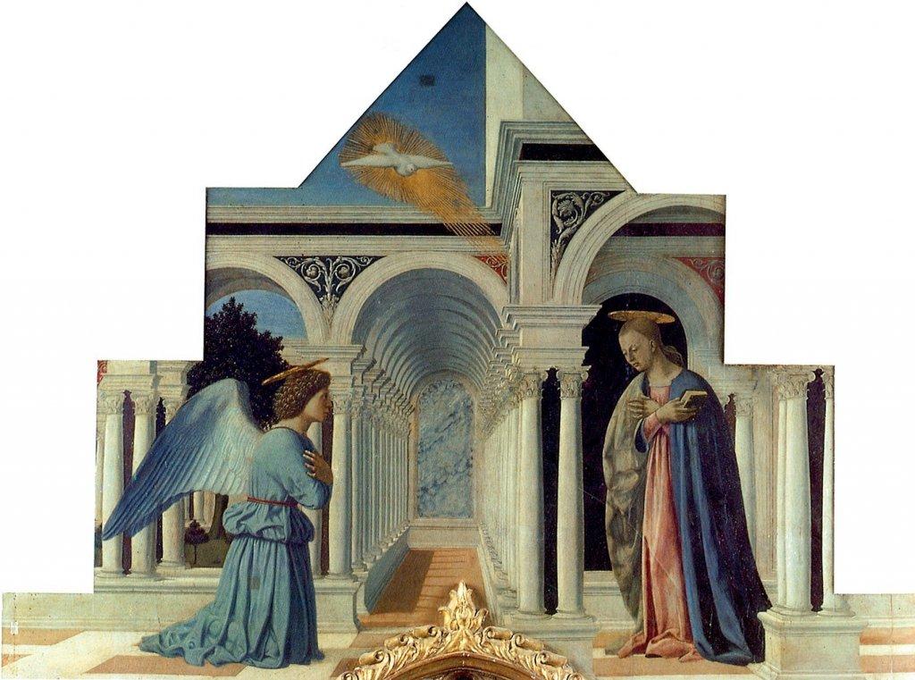 piero della francesca Polittico di Sant'Antonio