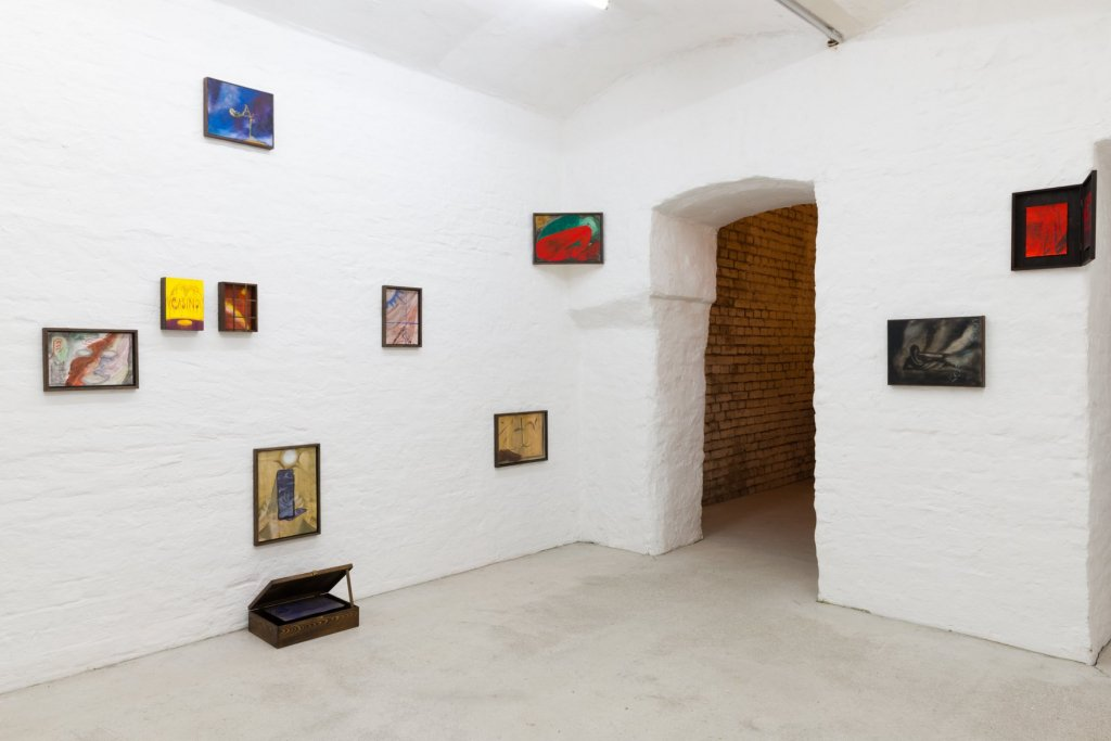 The Sower and other paintings, and exhibition of works by Zuzanna Bartoszek at Pina Vienna, 2019-20.