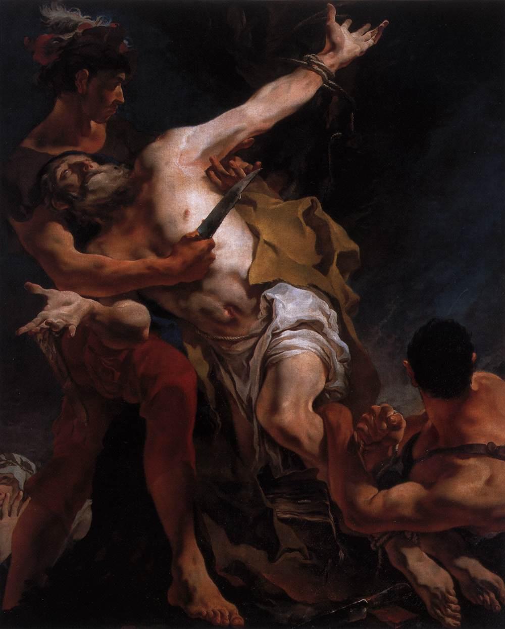 "Gaimbattista Tiepolo, ""Martyrdom of San Bartolomeo"""