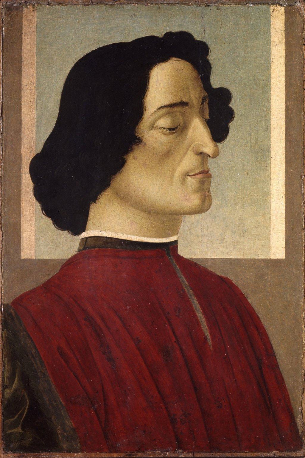 Botticelli Giuliano de Medici