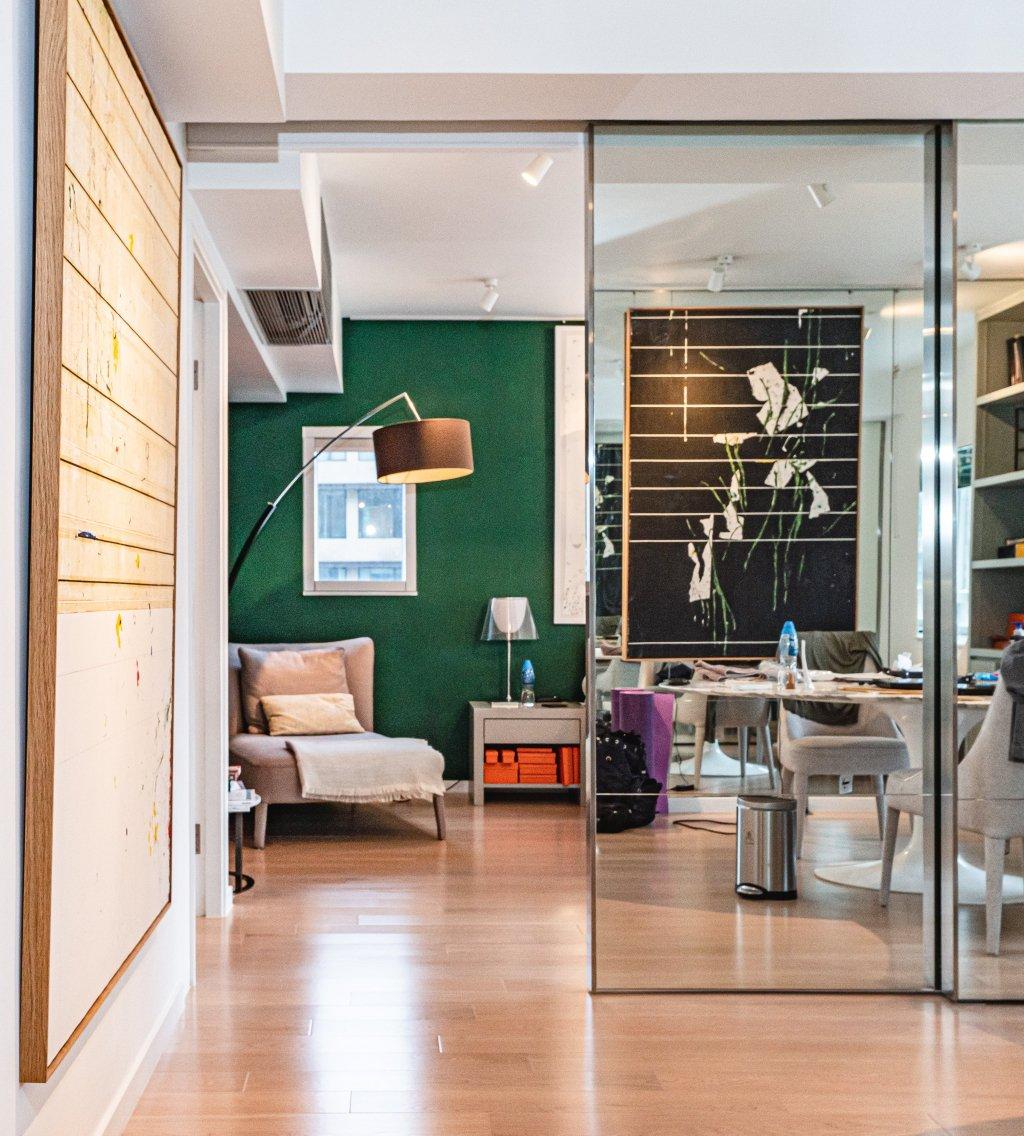Art collector Evan Chow's house in Sai Kung, Hong Kong.
