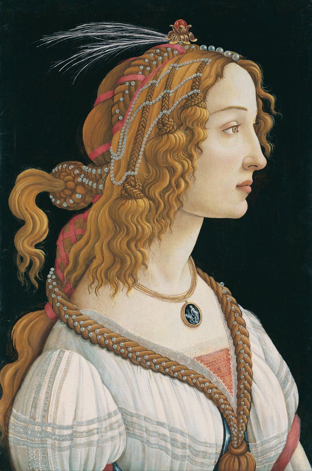 Sandro_Botticelli Simonetta Vespucci