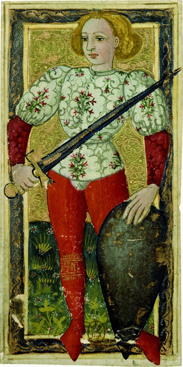 Tarot said of Charles VI, the Jack of the Sword
