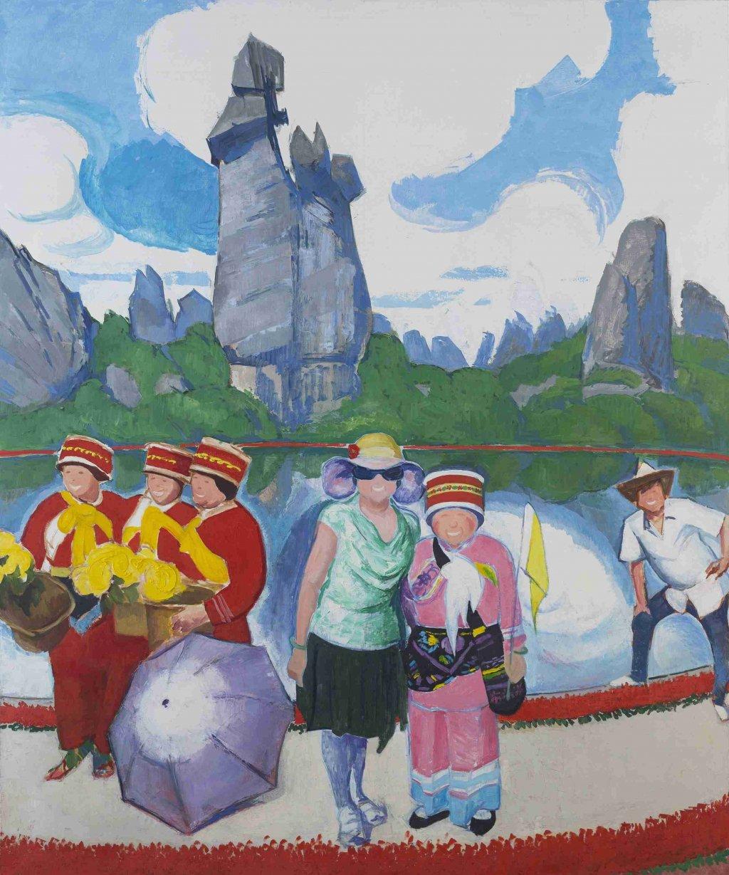 Huang Yu art collection