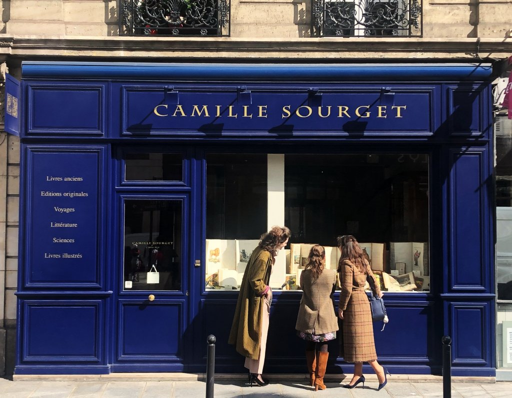 Camille Sourget Librarie