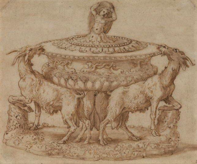 Giulio Romano tableware