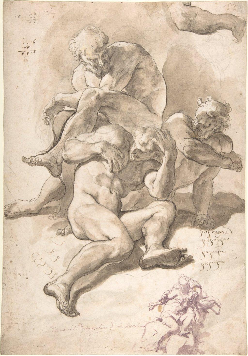 Paolo Pagani drawing