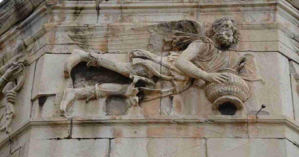 Atene - il vento Scirone