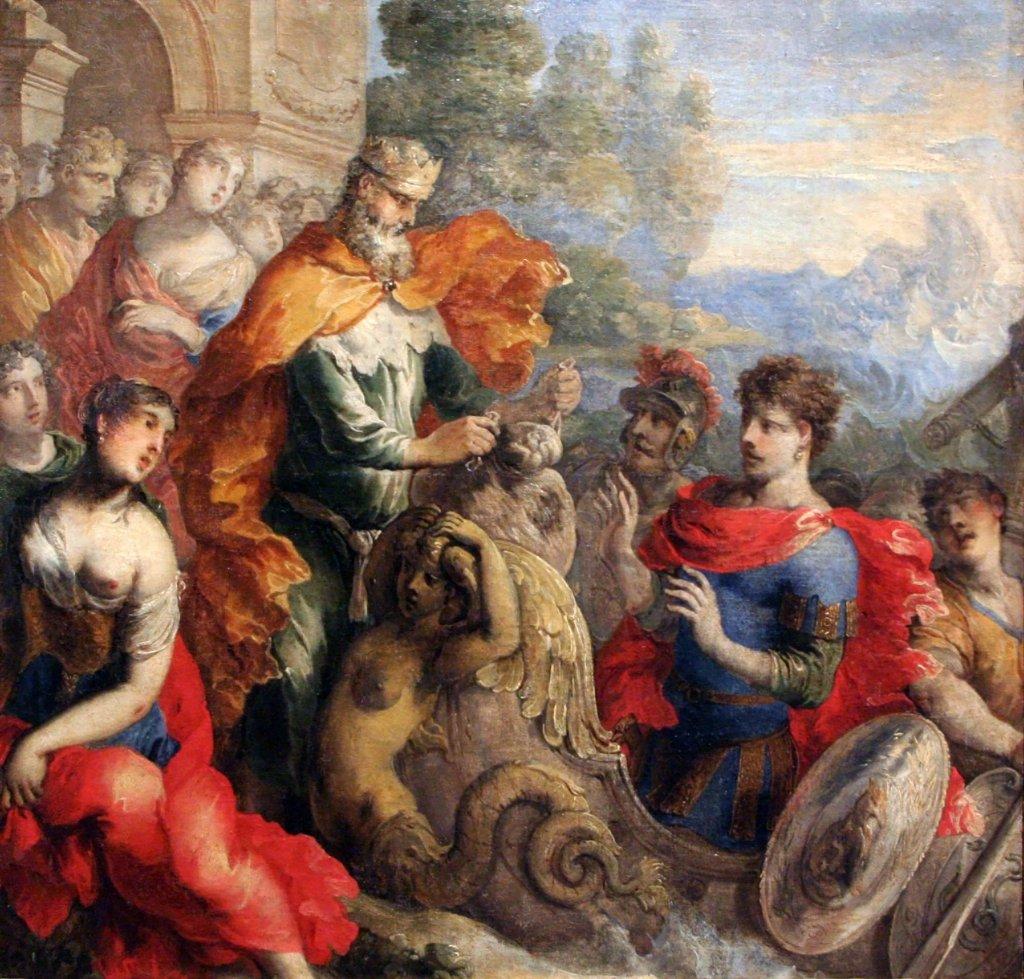 Isaac_Moillon_-_Éole_donnant_les_vents_à_Ulysse 1650